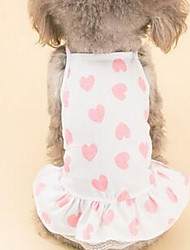 cheap -Dog Vest Dog Clothes Cute Casual/Daily Sailor Blue Pink Costume For Pets