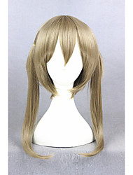Short Soul Eater Maka Albarn Blond Synthetic 18inch Anime Cosplay Wigs CS-270B