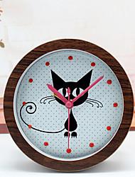 abordables -Digital Metal Reloj despertador,Cuarzo