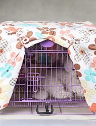 Gato Cachorro Camas Animais de Estimação Coberturas Flor Dobrável Arco-Íris