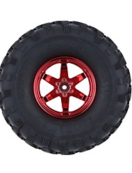 Generale RC Tire Pneumatico RC Auto / Buggy / Camion Rosso Gomma Plastica