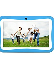 7 pollici Tablet bambini (Android 5.1 1024*600 Quad Core 512MB RAM 8GB ROM)