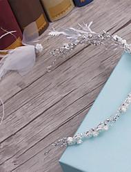 Headpiece della lega della piuma-cerimonia nuziale delle occasioni casuali delle fasce esterne di tiaras esterne 1 parte