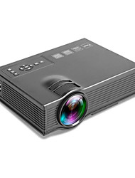 cheap -800 Lumen LCD Mini Projector with Native Resolution 800*600 Support 1080P