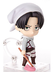 billiga -Anime Actionfigurer Inspirerad av Attack on Titan Mikasa Ackermann pvc 10 CM Modell Leksaker Dockleksak
