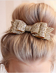 cheap -1 Pcs Women Hair Clips Lady Girls Sequin Big Bowknot Barrette Hairpin Hair Bow Accessories