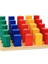 levne -Výukový nástroj Montessori Stavební bloky Vzdělávací hračka Válcový Vzdělání Klasické Chlapecké Hračky Dárek