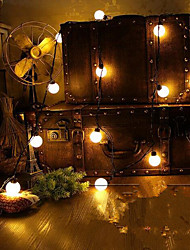 cheap -4M  Novelty 20 Led  Globe Connectable Festoon Party Ball String Lamps  For Fairy Wedding Garden Pendant Garland