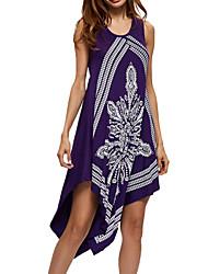 cheap -Women's Daily Work Simple Sheath Lace Dress