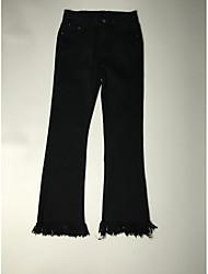 2017 весной новый корейская торговая кисточка микро динамик тонкие тонкие девять точек джинсы женщина прилив