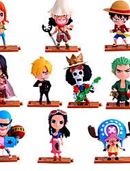 preiswerte -Anime Action-Figuren Inspiriert von One Piece Roronoa Zoro PVC 10 CM Modell Spielzeug Puppe Spielzeug