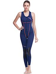 abordables -Dive&Sail Mujer 1,5 mm Traje de neopreno sin mangas Secado rápido Diseño Anatómico Transpirable Nailon Neopreno Traje de buceo Sin Mangas