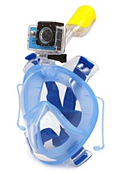 cheap -WINMAX Diving Mask / Snorkel Mask Anti Fog, Full Face Mask, Underwater Single Window - Swimming, Diving Silicone, Plastic, PVC - for