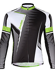 TASDAN Cycling Jersey Men's Bike Jersey Bike Wear Quick Dry Breathable Back Pocket Solid Cycling/Bike Running
