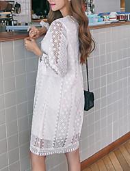 Sign autumn new retro fresh literary Japanese flash wide Song Leisi sleeve dress female head