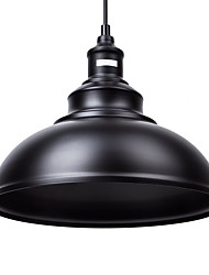 Max 60W Vintage Black Metal Loft Pendant Lights Living Room Dining Room Hallway Cafe Bars Clothing Store decoration Light Fixture