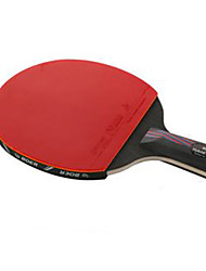 Ping Pang/Table Tennis Rackets Ping Pang Carbon Fiber Long Handle Others 1 Racket 3 Table Tennis Balls 1 Table Tennis Bag