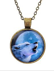 cheap -Men's / Women's Pendant Necklace - Silver, Bronze Necklace For Daily