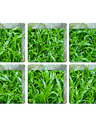 Thick Growth of Grass 3D Bathroom Non-Slip Stickers The Floor Tile Individuality Decorative Stickers