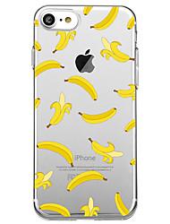 Per iPhone X iPhone 8 Custodie cover Ultra sottile Transparente Custodia posteriore Custodia Frutta Morbido TPU per Apple iPhone X iPhone