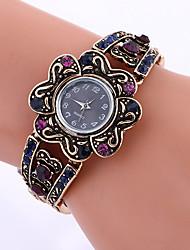 ieftine -Ceas La Modă Ceas Brățară Quartz Aliaj Bandă Vintage Charm Creative Cool Casual Negru Alb Negru