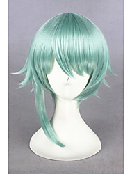 cheap -Short Light Green The kingdom of Sleeping and 100 princes Synthetic 14inch Anime Cosplay Wigs CS-273D