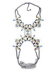 Women's Body Jewelry Body Chain Natural Fashion Synthetic Gemstones Alloy Geometric Jewelry For Special Occasion Anniversary Casual