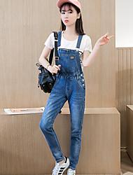 Zeichen 2017 Frühling und Herbst neue koreanische Version des Trends der Casual Mode lose dünnen Baumwoll-Denim
