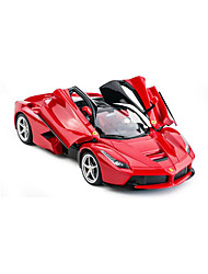 cheap -RC Car Rastar 50100 2.4G Car 1:14 Brushless Electric 8.2 km/h KM/H Remote Control / RC / Rechargeable / Electric