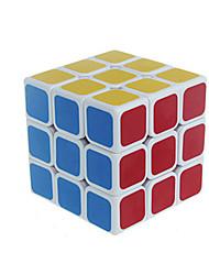 baratos -Rubik's Cube 3*3*3 Cubo Macio de Velocidade Cubos Mágicos Cubo Mágico Adesivo Liso Quadrada Dom