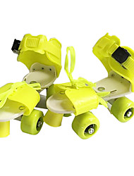 baratos -Patins em Linha Crianças Ajustável, Respirável, Anti-desgaste Verde, Azul, Rosa claro Andar de patins