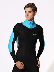 HISEA® Men's Wetsuits Quick Dry Anti-Eradiation Breathable Diving Suit Long Sleeve Diving Suits-Diving Spring Summer Fall/AutumnSolid