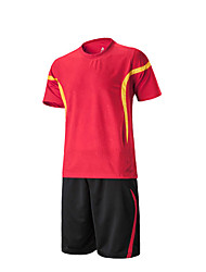Men's Women's Soccer Sweat-wicking Spring Summer Winter Fall/Autumn Stripe Polyester Racing Leisure Sports Running