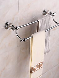 cheap -Towel Bar High Quality Modern Metal 1 pc - Hotel bath 2-tower bar Wall Mounted