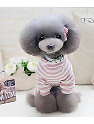 preiswerte -Hund T-shirt Hundekleidung Niedlich Lässig/Alltäglich Prinzessin Grau Rosa Kostüm Für Haustiere