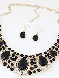 Women's Jewelry Set Crystal Sexy Fashion Wedding Party Daily Casual Crystal Rhinestone Alloy Others Earrings Necklaces