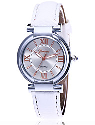 cheap -New Brand Women Luxury Dress Watches Leather Strap Fashion Quartz Watch Student Wristwatches Ladies Hours