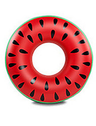cheap -Circular Watermelon Donut Pool Float Extra Large Thick PVC Adults' Men's Women's