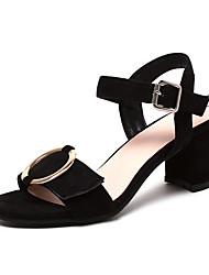 Women's Sandals Comfort Slingback D'Orsay & Two-Piece Leatherette Spring Summer Dress Comfort Slingback D'Orsay & Two-PieceBuckle