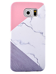 cheap -For Samsung Galaxy S8 Plus S8 Case Cover Marble Pattern HD Pattern PC Material Skin Care Touch Decal Phone Case S7 Edge S6 Edge S7 S6
