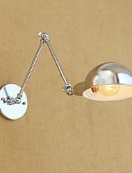 baratos -Retro / Moderno / Contemporâneo Swing Arm Lights Metal Luz de parede 110-120V / 220-240V 40W
