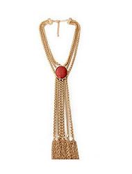 Жен. Ожерелья с подвесками Multi-камень Имитация Sapphire Природа Мода Euramerican Простой стиль Бижутерия Назначение Повседневные
