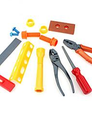 Tue so als ob du spielst Konstruktionswerkzeuge Spielzeuge Quadratisch Kinder Jungen 9 Stücke