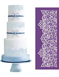 Princess Lace Stencil for Wedding Cake Decoration Fabric Mold Fondant Cake Stencil Decorating Cake Design Baking Tools MST-05