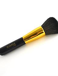 1 Pincel para Blush Pincel para Pó Escova de Cabelo de Cabra Profissional Madeira Rosto Outros