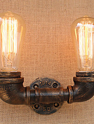 AC 110-130 AC 220-240 80 E26/E27 Rustico Retrò Pittura caratteristica for Stile Mini Lampadina inclusa,Luce ambientLampade a candela da