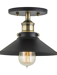 moderne industrielle Mini-Edison Deckenleuchte 1-Licht Vintage-Stil bündig Montage Licht
