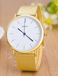 abordables -Hombre Reloj de Pulsera Reloj de Vestir Reloj de Moda Reloj Deportivo Chino Cuarzo Gran venta Aleación Banda Encanto Creativo Casual