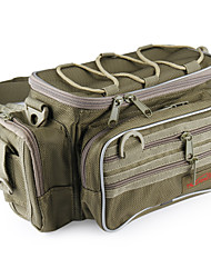 cheap -Fishing Tackle Bag Tackle Box Multi-Functional Waterproof Dust Proof Polyester Nylon