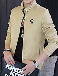 2016 nuova giacca caduta maschili sottile breve primavera e autunno maschio sottile uomini casual&# 39; s giacca marea dei giovani